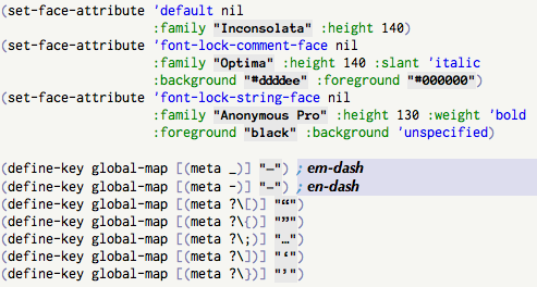 EmacsWiki: Good Fonts