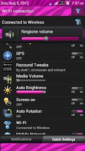 Pink Zebra Sense 3.6 Skin- screenshot thumbnail