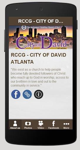 生活必備APP下載|RCCG - CITY OF DAVID ATLANTA 好玩app不花錢|綠色工廠好玩App