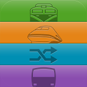 双铁时刻表 - 台湾最多人用的火车查询工具 icon
