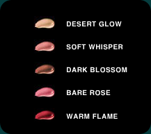 edward bess lipgloss colours