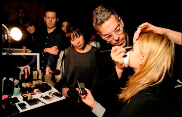 Backstage with NARS at Honor's AW11 Show