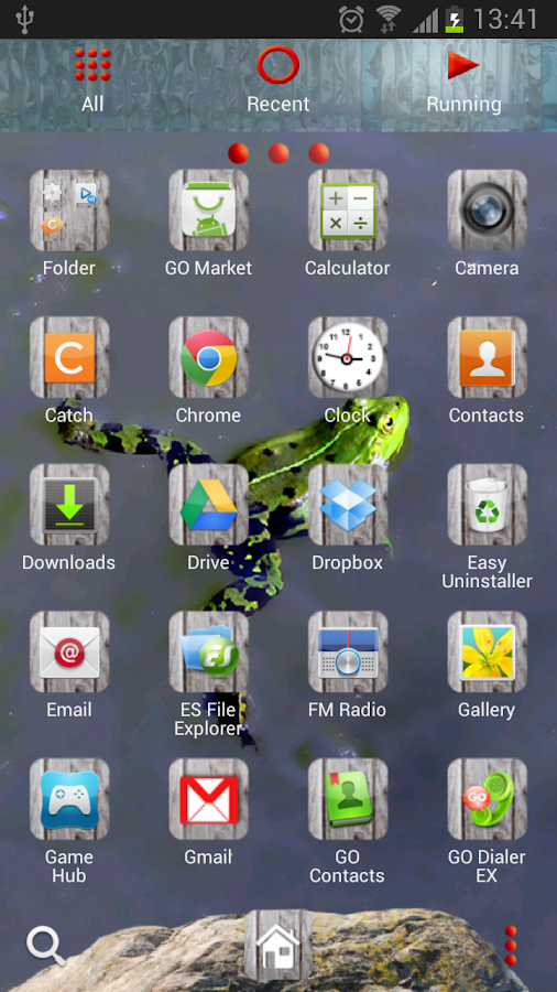 GO Launcher Zoo Animals Theme - screenshot