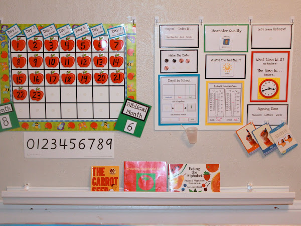 Kindergarten Morning Board