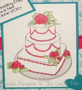 stamptacular DT - wedding (close up)