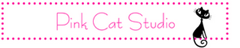Pink cat studio logo
