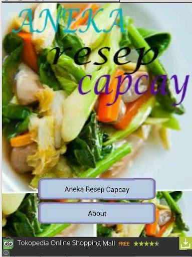 Aneka Resep Capcay