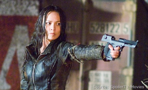 Moon Bloodgood as 'Blair' [Click for an additional set of stills from Terminator Salvation]