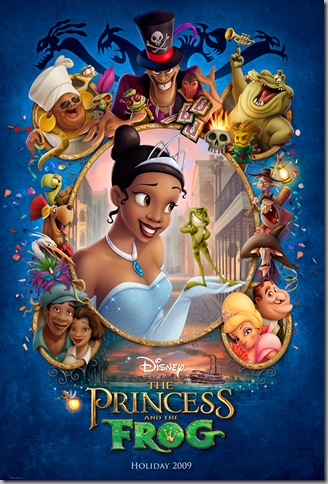 THE PRINCESS AND THE FROG poster [click to enlarge]
