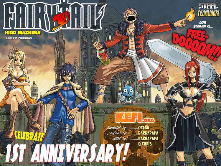 Fairy Tail Chap 47