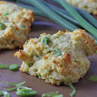 Pepper Jack, Scallion and Cilantro Drop Biscuits