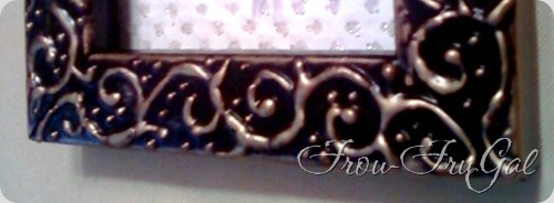 embossing -  close up
