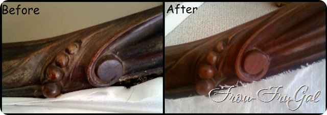 Wood Refinishing Before & After