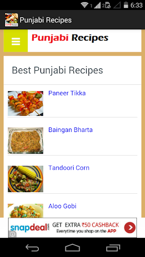 Punjabi Recipes