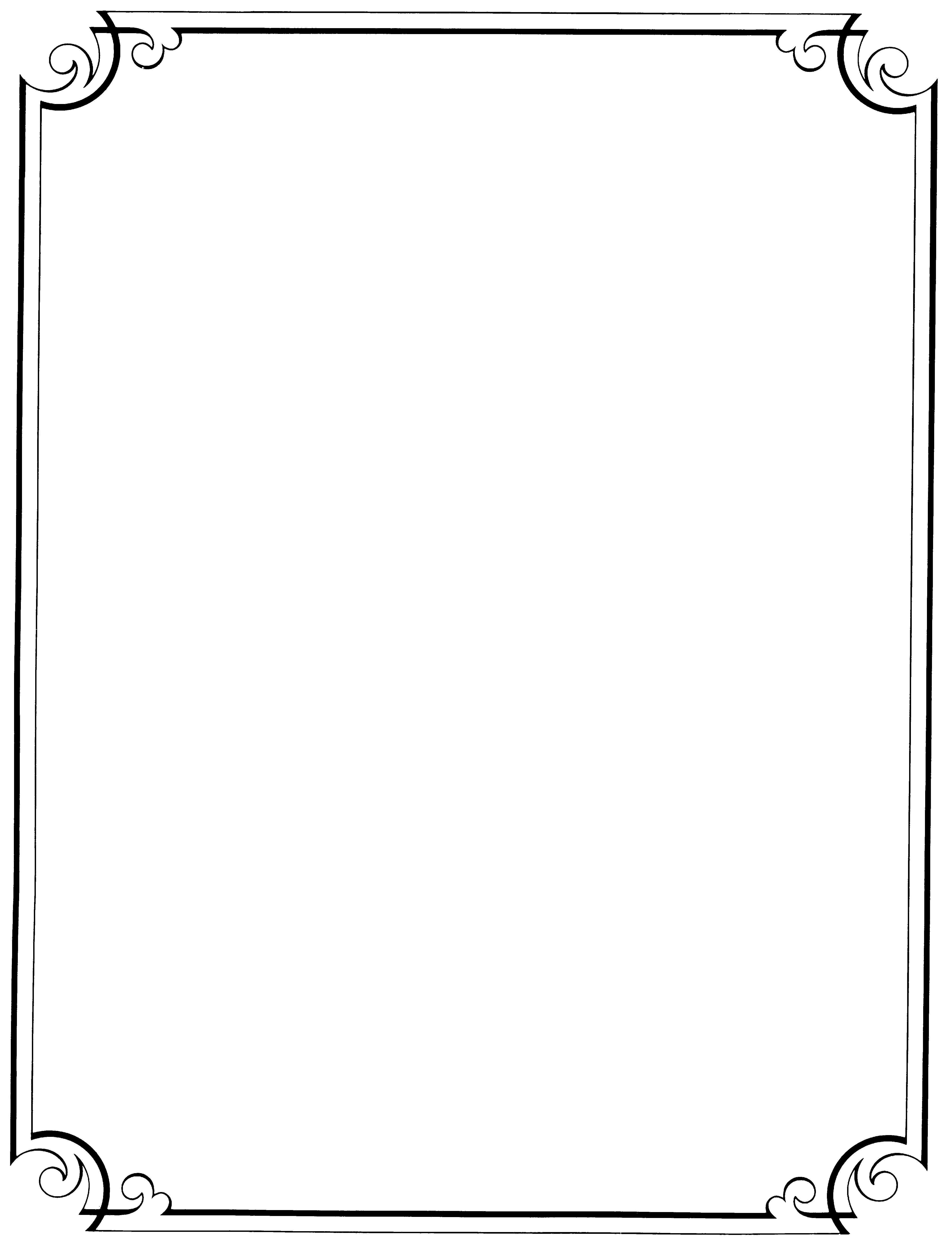 elegant page border designs
