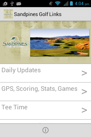 Sandpines Golf Links- screenshot