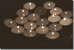 candles - copyright Annette Holland