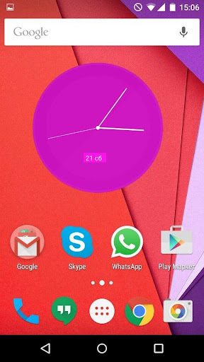Material Clocks Free