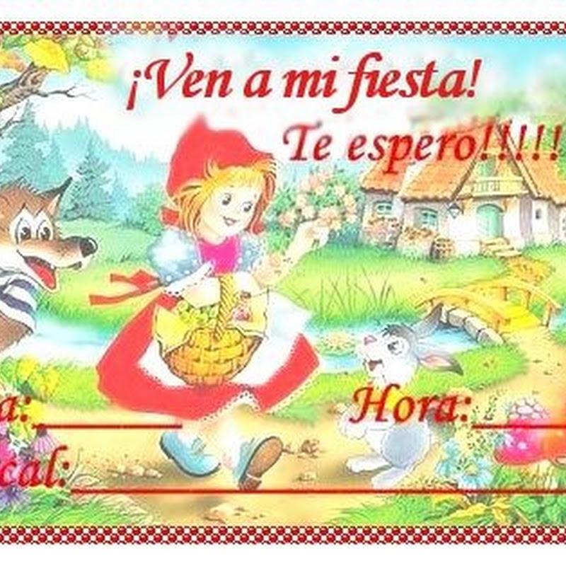 Blog De Imágenes Caperucita Roja Para Fiesta De Cumpleaños