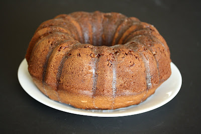 close up photo of a bundt cake