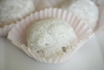 close-up photo of piece of mochi