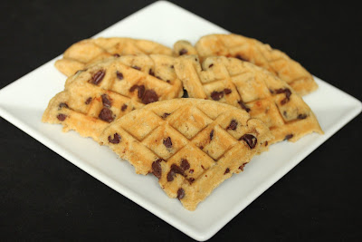 photo of Waffled chocolate chip cookies