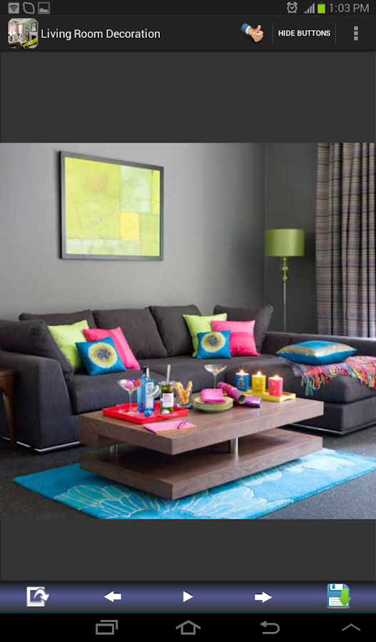 Living room decoration designs android apps on google play for Room design photos