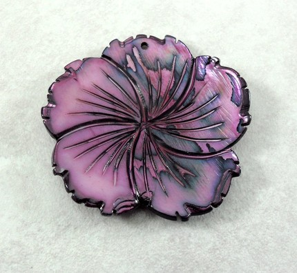 photo of Mother of Pearl Flower Pendant