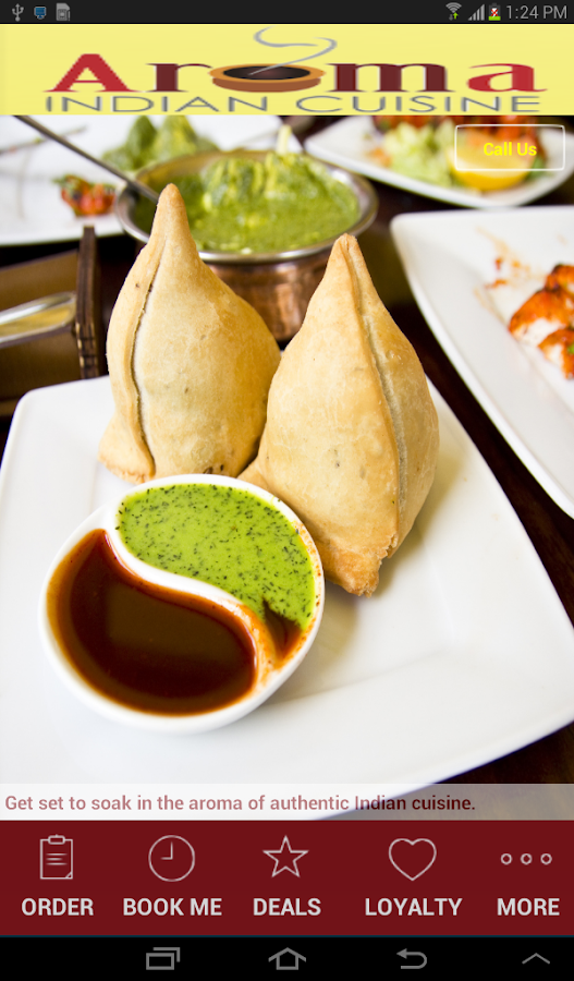 Aroma indian cuisine android apps on google play for Aroma cuisine of india