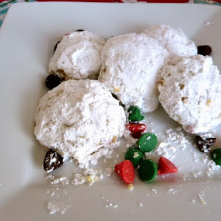 Snowball Cookies.
