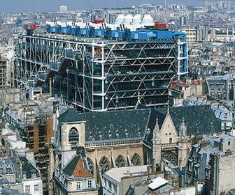 diseño High Tech Centro Pompidou en París