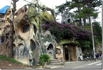 hotel estructura forma organica