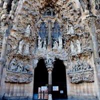 Sagrada Familia en Barcelona fachada-sagrada-familia-nacimiento-de-Jesús