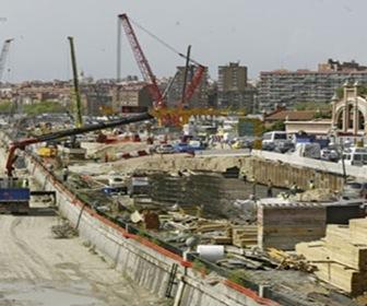 Construcción - Mega Construcciones Túnel M-30 Madrid