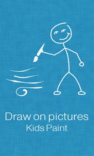 Draw on pics - Kids Paint Free