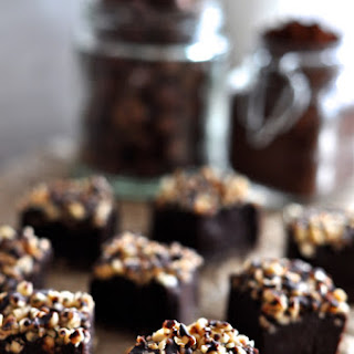 Chocolate Hazelnut Truffle Squares Recipe