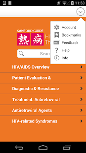 Sanford Guide:HIV/AIDS Rx - náhled