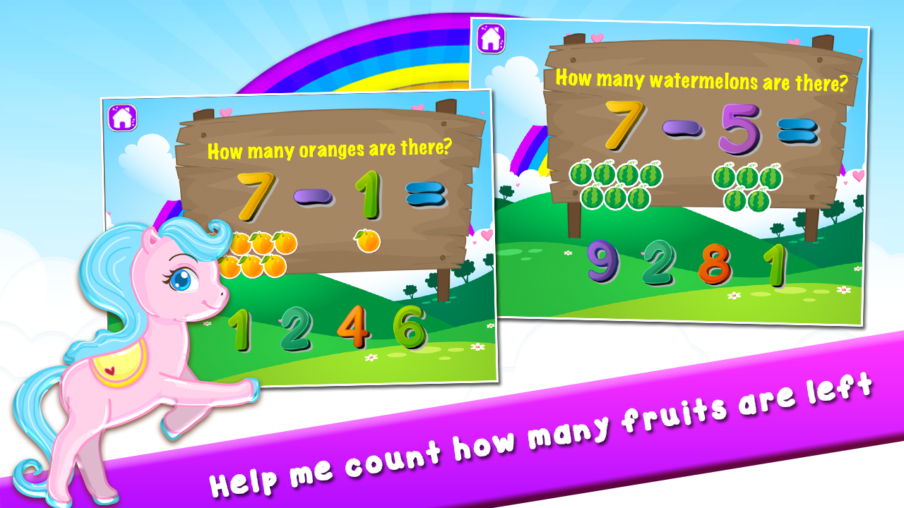 Pony Learns Preschool Math- screenshot