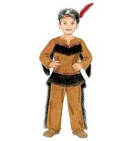 Disfraz Casero De Indio Y De India Con Patrones Trato O Truco - Hacer-disfraz-india