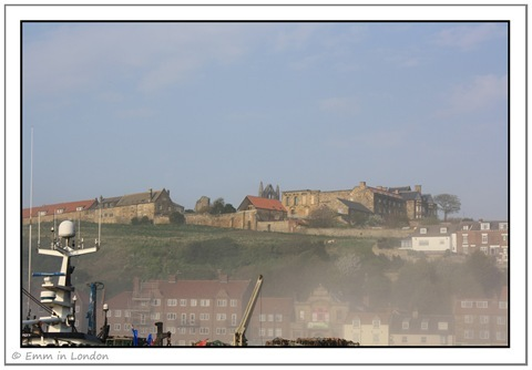 Whitby Abbey Above Sea Fret in Whitby