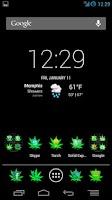 Screenshot of Green Potcons Icon Skins