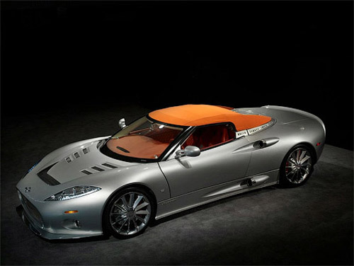 Spyker has transformed C8 Aileron into a roadster
