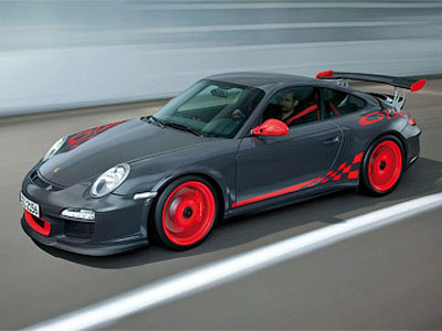 Company Porsche has created the track supercar 911 GT3 RS