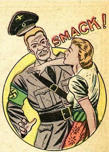 martin klasch vintage comics feisty gals