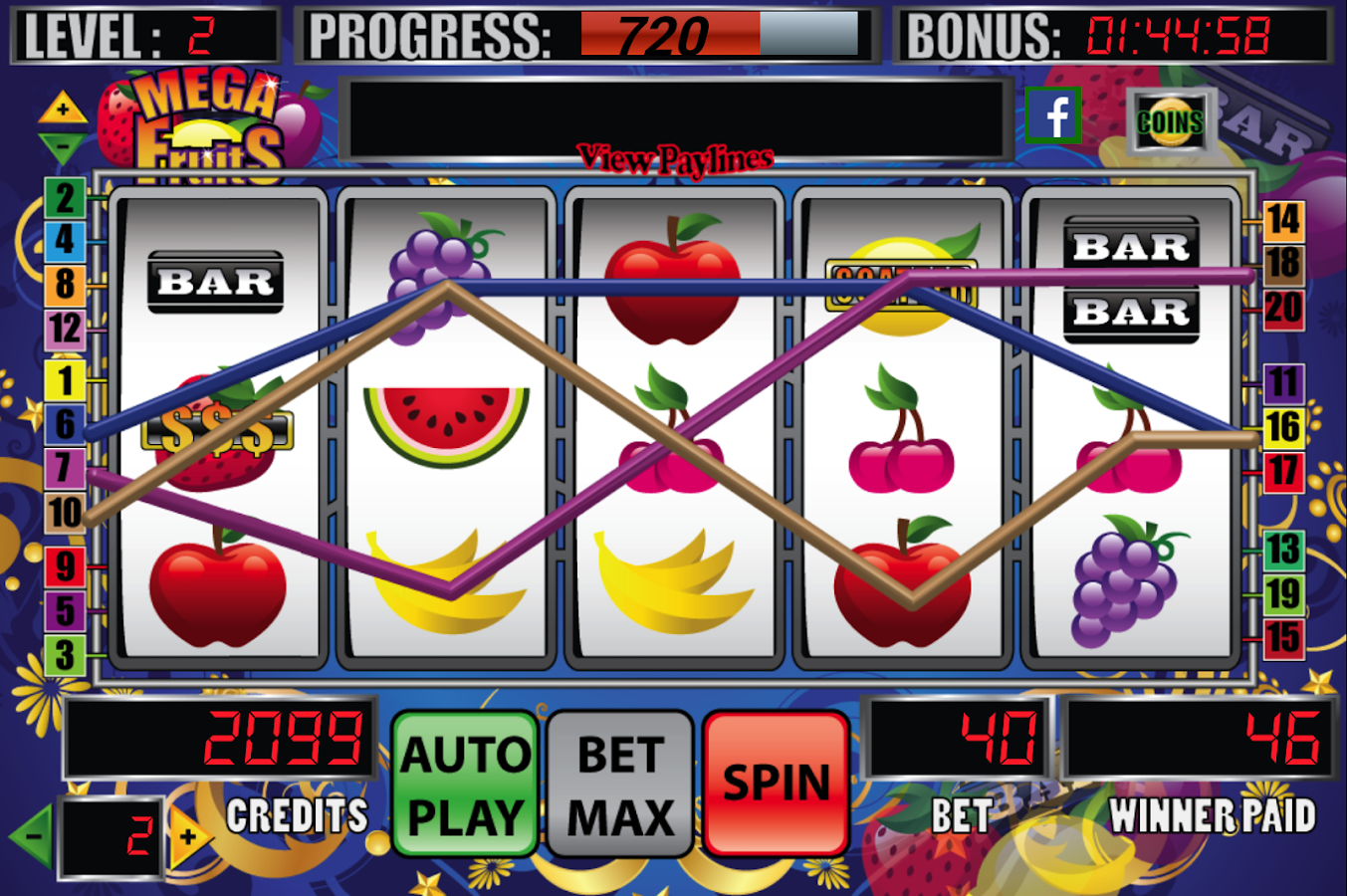 Fruit Heat Slot Machine - Play for Free Online Today