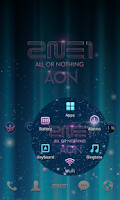 Screenshot of 2NE1 AON LINE Launcher theme