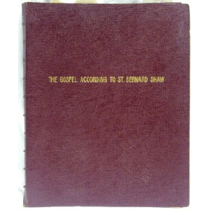 The Equinox Vol Iii No Ii The Gospel According To St Bernard Shaw Cover
