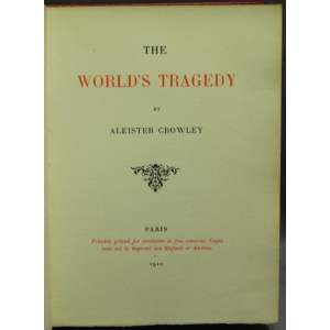 World Tragedy Cover