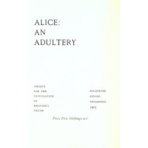 Alice An Adultery Cover