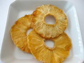 Kirbie's Munchies- Healthy, Sweet Dried Pineapple Rings